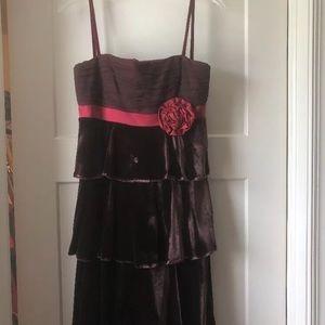 Velvet cocktail dress by Laundry